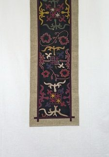 Antique Kyrgyz Saima Hanging 47x16