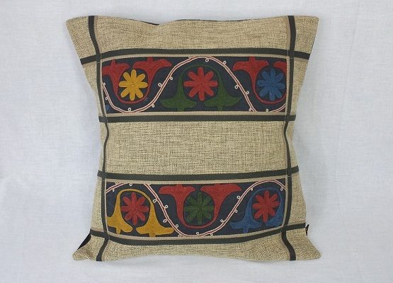 Embroidered Pillow